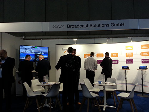 Broadcast Solution booth